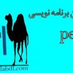 آموزش زبان برنامه نویسی perl(به زبان فارسی)