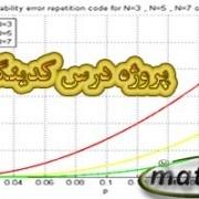 دانلود پروژه درس کدینگ (پیاده سازی در نرم افزار Matlab)