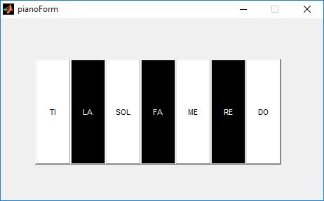 پروژه طراحی پیانو با نرم افزار متلب