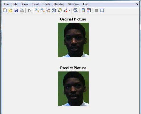 پروژه تشخیص چهره با شبکه ی عصبی