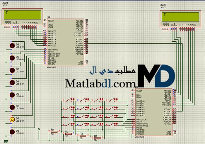 پروژه فرستنده و گیرنده مادون قرمز با میکروکنترلر AVR