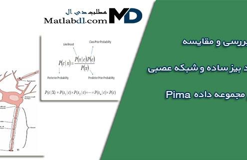بررسی و مقایسه طبقه بند بیز ساده و شبکه عصبی بر روی مجموعه داده pima
