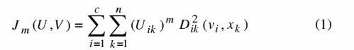 بهبود خوشه بندی داده ها به کمک منطق فازی و الگوریتم بهینه سازی اجتماع ذرات