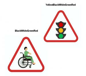 الگوریتم تشخیص رنگ علائم راهنمایی و رانندگی در نرم افزار MATLAB