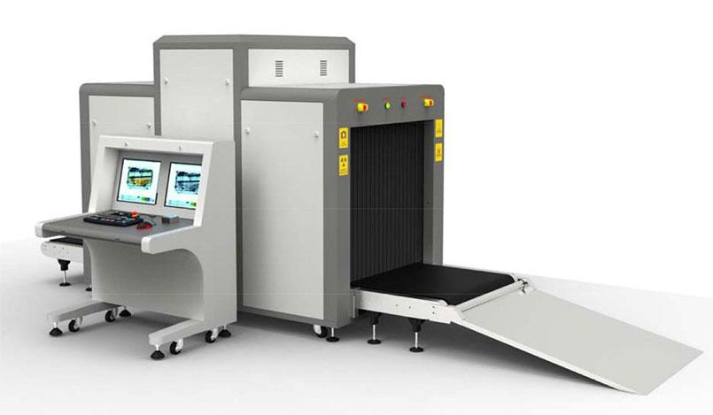 نمونه ای از دستگاه x-ray برای بررسی وسایل مسافران